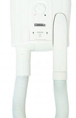 Sèche cheveux avec thermostat et prise rasoir