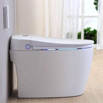 WC Japonais Monobloc design de marque TopToilet SAPPHIRE