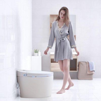 WC Japonais Monobloc de marque TopToilet Luxe DIAMOND