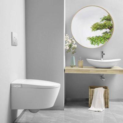WC Japonais suspendu design CRYSTAL